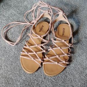 Strappy Sandal Flats